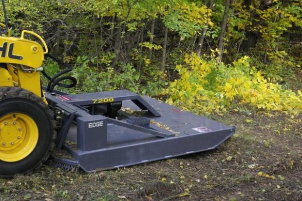 EDGE's new 72-in. high-flow rotary brush mower