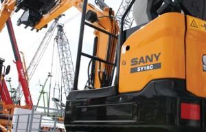 Sany America Compact Excavators — 2014 Spec Guide
