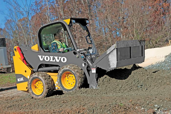 Volvo Skid Steer : Volvo skid steers — spec guide compact equipment