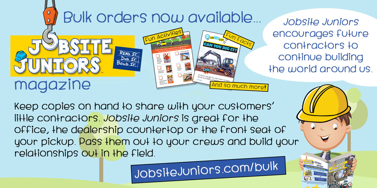Jobsite Juniors™ | Read It. Dig It. Build It. | Bulk orders now available...