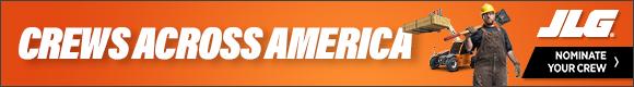 JLG® | Crews Across America | Nominate Your Crew