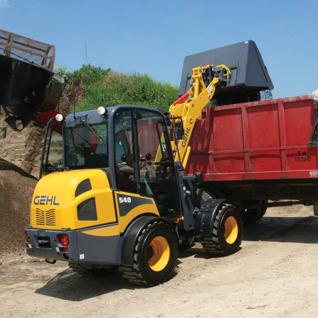 Cool Tool Of The Day  Gehl Articulated Loaders  Video