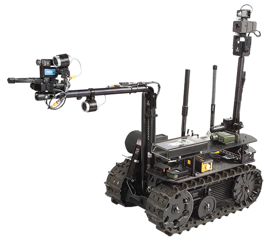 Robots to the Rescue   Compact Equipment