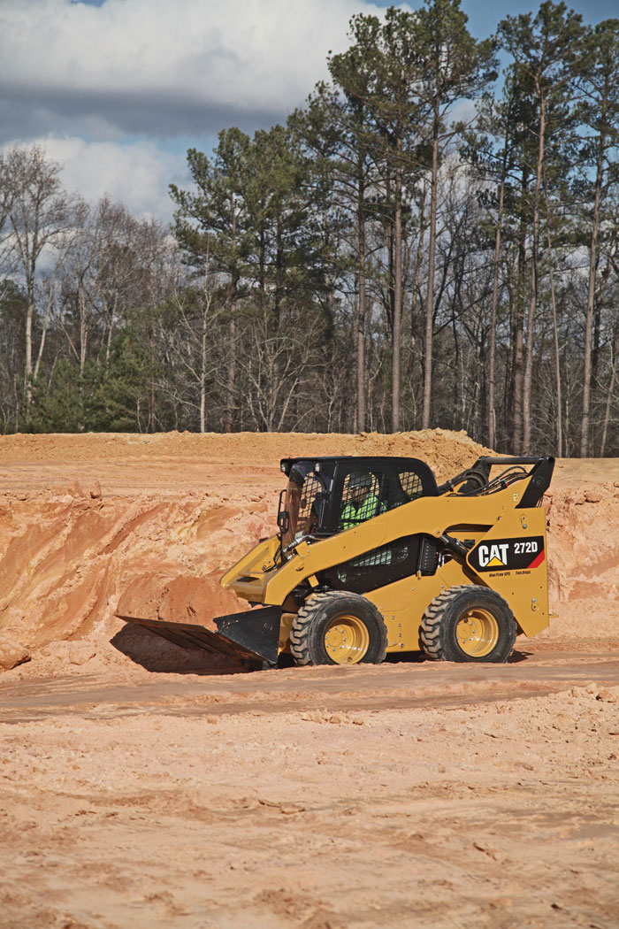 Cat Updates Engines, Accessories and Horsepower on the New D-Series Skid Steer and Track Loaders