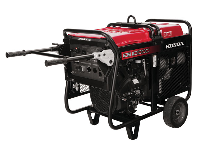 Honda Power Equipment Model EB10000 Is the Flagship of Industrial Series Generators