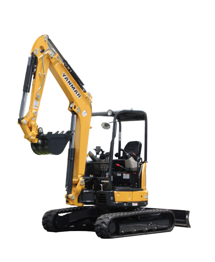 Yanmar's ViO35-6 Compact Excavator Is in a Size Class of Its Own