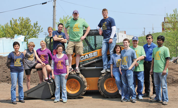 Case Construction Equipment Supports Victory Garden Initiative in Milwaukee