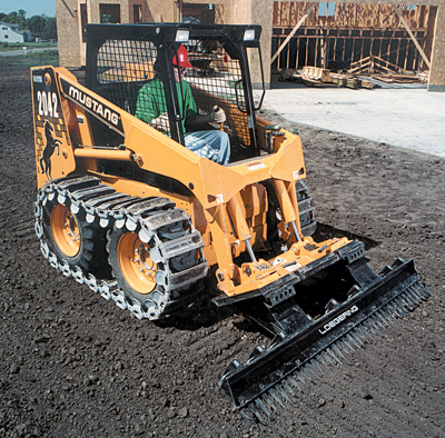 Over-the-Tire Track Loader
