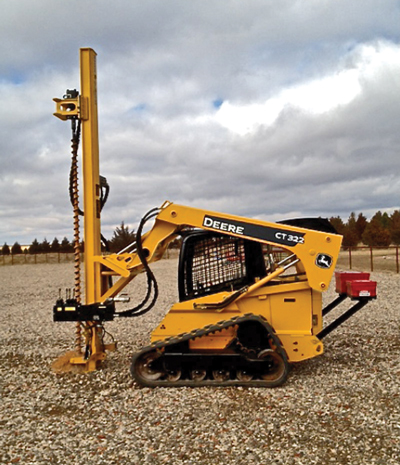 Cost-Effective Drilling Mast Attachments | Compact Equipment