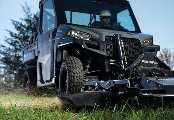 Polaris BRUTUS  Line of Commercial UTVs