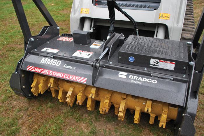 Skid steer mulcher maintenance made easy | Compact Equipment