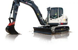 Terex Releases Tier 4 Final TC85 Compact Excavator