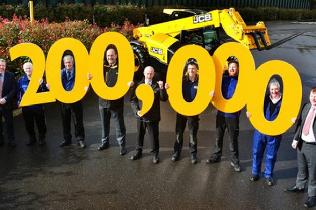 JCB Produces 200,000TH Loadall Telescopic Handler
