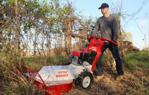 Little Wonder's Hydro Brush Cutter features hydrostatic drive