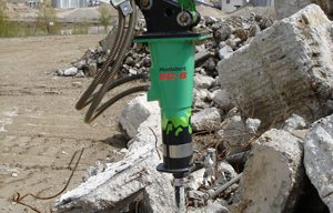 Montabert SC-Series Hydraulic Breakers Fit for Use with Compact Carriers