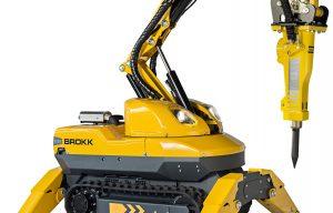 Brokk introduces the smallest diesel-powered demolition robot, the Brokk 120 D