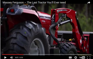 Massey Ferguson launches national advertising campaign, 'The Last Tractor You'll Ever Need'