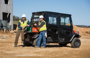 Caution: UTVS at Work (a Utility Vehicle Safety Guide)