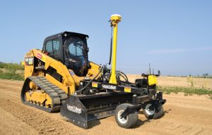 High Tech Options for Grade Control on Track Loader/Skid Steer Attachments
