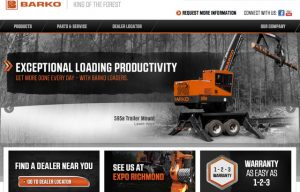 Barko Hydraulics Launches New Website (Go Visit It!)