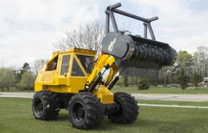 Updated Geo-Boy Brush Cutter Tractor Has Engine Options and Other Features