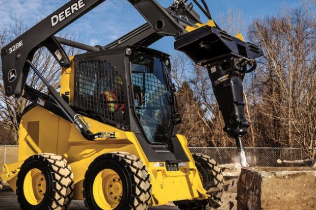 New Hydraulic Hammers Break Into the John Deere Attachments Lineup