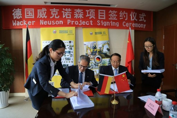 Wacker Neuson Plans to Open a New Factory in China