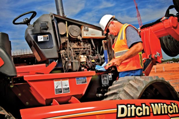 Digging Maintenance: Routine Inspections for Ride-On