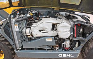 A Comprehensive Maintenance Routine for a Compact Telehandler