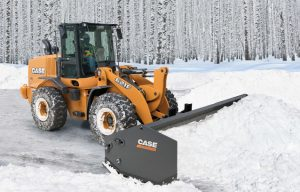 Case Introduces New Sectional Snow Pushers for Wheel Loaders, Skid Steers, Track Loaders and Beyond