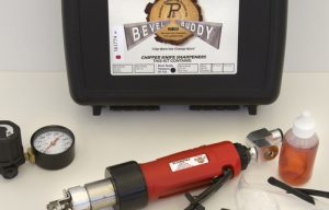 Precision Sharpening Offers Pneumatic Bevel Buddy, Available Through Morbark Dealers