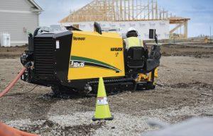 Vermeer D10x15 S3 Navigator horizontal directional drill offers 36 percent more horsepower