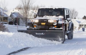 SnowEx Scrape Maxx Adds Downforce Ability to Existing SnowEx Truck Plows