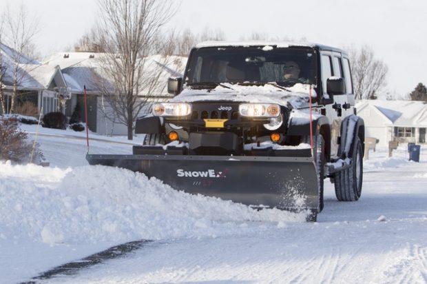 SnowEx Scrape Maxx Adds Downforce Ability to Existing SnowEx Truck Plows