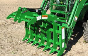 Two Cool New Attachments from Worksaver (Mini Grapple and Skid Steer Adapter)