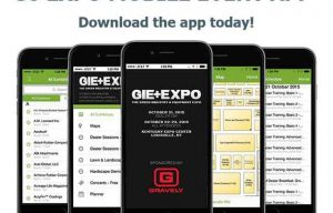 GIE+EXPO Offers Mobile App for 2016 Trade Show