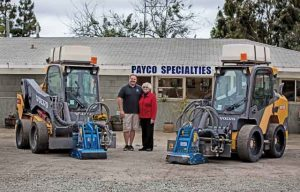 Payco Specialties Relies on Volvo Skid Steers to Tackle Pavement Marking Projects