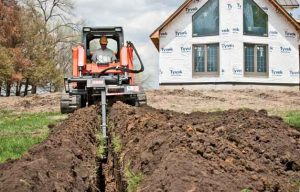 Trencher Attachments for Skid Steers/Track Loaders Are Perfect for Quick/Shallow Jobs