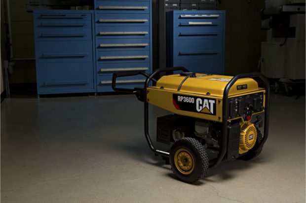 Caterpillar Enters Home and Outdoor Power Market with Small Gen Sets