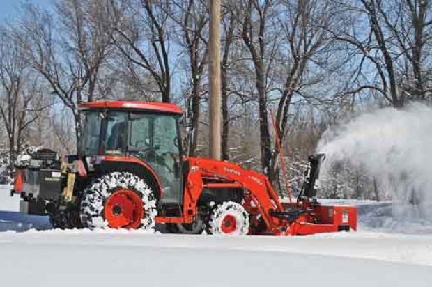 Implements of Winter: Your Compact Tractor Was Made for Snow Removal