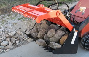 Get Attached to Worksaver's New 42-in. SARG Sweep Action Rock Grapple