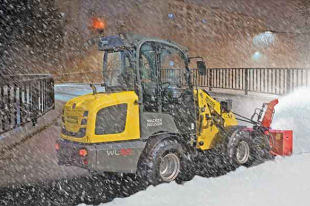 Winter Wheel Loaders: How to Outfit Your Compact Wheel Loader for Snow Removal