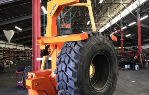 LiftWise Introduces High Capacity, Remote-Controlled Tire Handler