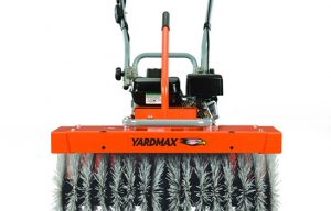 New Yardmax Power Sweeper Clears a Path for Your Cleanup Applications
