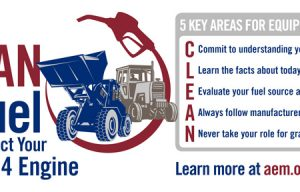 Five Tips for Clean Diesel Fuel for Tier 4 Engines via an AEM Fuel-Quality Infographic