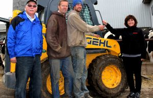 Friday Fun: Vanderstappen Farms Wins Free Use of a New Gehl R190 Skid Loader
