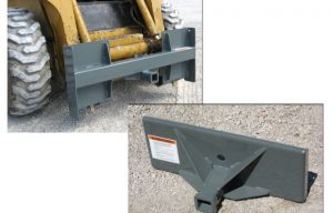 Interesting New Trailer Mover Attachment for Skid Steers and Compact Tool Carriers