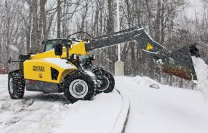 Compact telehandlers focus on ground-engaging attachments