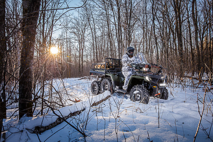 Polaris Introduces New Sportsman 6×6 BIG BOSS 570 ATV