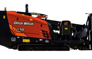 New Ditch Witch JT10 Small HDD Unit Offers Power in a Compact Package